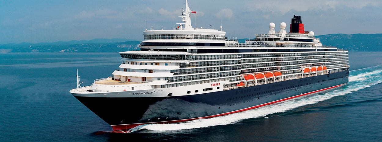Queen Mary 2 oder Queen Elizabeth mit Paris, London und Hamburg